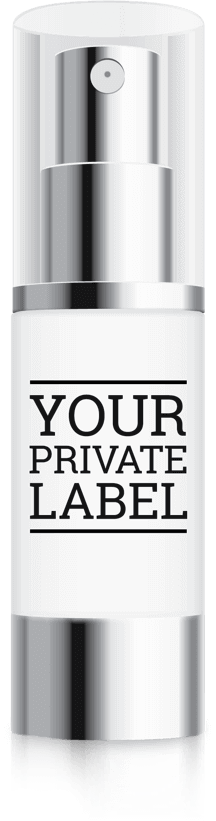 Private Label Product Bottle
